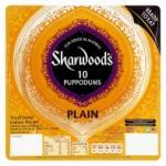 Sharwoods Poppadums 10 pack @ 2 packs for £2 in ASDA