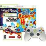 Xbox 360 Entertainment Pack - (Burnout Paradise: Ultimate Box, Trivial Persuit, Connect 4, White Wireless Controller) Collect Instore £24.99 @ Comet