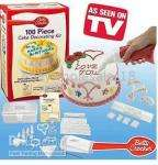 100 Piece Cake Decorating Set £2.99 @ The Works