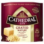 Cathedral City Grated Cheddar 200g £2.25 BOGOF @ Tesco (£1.13 each)
