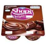 Danone Shape Delights Chocolate 4 X 110g pots £1 save 59p @ Tesco