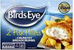 Birds Eye 2 Fish Fillets in Crunchy Breadcrumbs (200g) was £1.82 now Rollback to £1 @ Asda