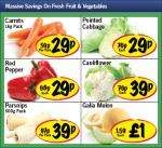 Fruit & Veg offers from Lidl from 29p
