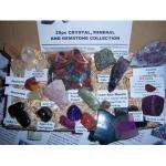 80 % OFF  Rocks, Crystals, Minerals and Gemstone NEW 25pc Collection £9.99  Amazon Retails at a mad £49.99