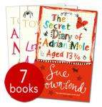 Adrian Mole Collection - 7 Books RRP £55.93 only £7.99 delivered @ The Book People