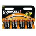 Duracell Plus Alkaline AA Batteries Pack of 8  MN1500, £2.78 Delivered @ Amazon