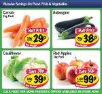 Lidl - Carrots 1kg 29p/ Aubergine 38p/ Cauliflower 39p/ Red Apples 1kg 99p