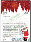 Letter from Santa for Macmillan Cancer Support - Only £3 delivered