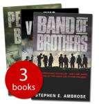 Stephen Ambrose Collection : Band of Brothers, Pegasus Bridge + The Victors : 3 Books £4.99 delivered at The Book People