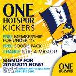 Free membership for Spurs Juniors Under 11 (+Plus free gifts)