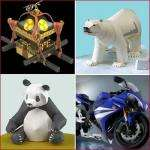 Yamaha Papercraft - 100's of paper models free! (and alot of motorcycles)