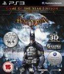 Batman: Arkham Asylum Game of the Year Edition PS3 TescoEnt £17.70 delivered