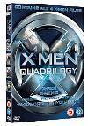 X-Men Quadrilogy (DVD) £10.95 @ Zavvi