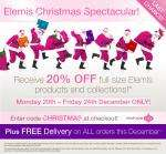 20% off Elemis full sized products & collections - Timetospa