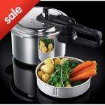 Russell Hobbs 4 ltr pressure cooker - Half price 15 at Asda