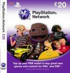 PSN Live Card £20 (Code emailed within 24 hours) £17.60 + Quidco @ ehub Direct