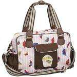ink Lining Yummy Mummy Butterflies Changing Bag, Pink/Brown was £70 now £49 @ John Lewis
