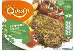 Quorn Peppered Steaks (2 per pack - 196g) £1.16 @ tesco