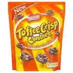 Nestle Toffee Crisp Clusters 150G 93p @ Tesco
