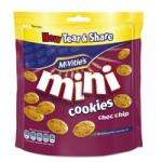 Mcvities Mini cookies (choc chip) 59p each or 2 for 99p @ 99p stores
