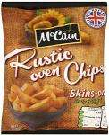 Mccain Rustic Oven Chips 1kg £1 at Tesco & Sainsburys