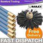 "QUALITY ""bailey bros"" blue's chimney sweep set £18.46 @ BAMFORD TRADING .. (as it's stove season)"