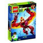 LEGO Ben 10 Alien Force 8518 Jet Ray - now only £6.00 delivered at Amazon