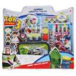 Toy Story 3 Creative Centre - Large Activity Desk with arts and crafts items, including creative book with line Art and Paints, Double Sided Card Scenes with Standees, Sticker Book, Foam Stampers and Carry Bag (was £30) £10 at Tesco