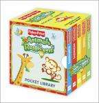 Fisher Price Animals of the Rainforest Little Library- Home Bargains 89p!