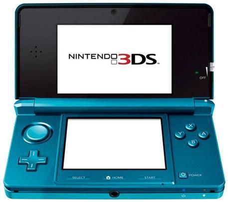 *PRE ORDER* Nintendo 3DS Console In Comsos Black Or Aqua Blue - £199.99 *Instore* @ Sainsburys