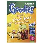 Goodies organic fruit bars from 12 months + 6 boxes of 7 bars £5.69 rrp £1.97 per box @ Amazon