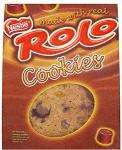 Nestle Smarties Cookies (5) & Nestle Rolo Cookies (5) 2 packs for £1.50 at Asda and Tesco