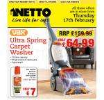 Ultra Spring Carpet Washer - £64.99 @ Netto