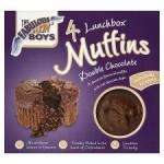 BOGOF @ Tesco - Fab Bakin' Boys Double Chocolate Or Mint Muffins 4Pk/ Galaxy cake bars 5pk/ Mcvities cakes/ flapjacks