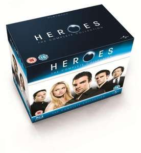 Heroes: The Complete Collection, Seasons 1-4 Blu-ray £50.86 delivered at The Hut (3.03% Quidco and TCB)