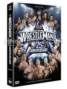 Wrestlemania 25th Anniversary: Limited Edition (3 Disc DVD) - £10.99 Delivered @ Silver Vision