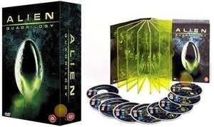 Alien Quadrilogy 9 disc complete box set - £8.37 @ the hut