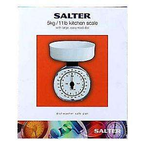 Salter 5KG Kitchen Scales white £4.00 @ Asda (online and instore)