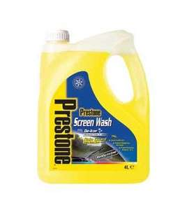 Prestone 4L Screen Wash now instore for £2 in ASDA !!