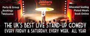 £5 For Two Tickets To A Friday Night Comedy Show At Jesters Worth £20 (Bristol) @ KGB Deals