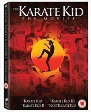 The Karate Kid 1-4 Box Set (DVD) - £4 @ Tesco Entertainment