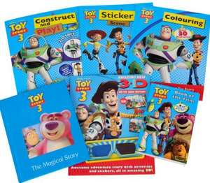Disney - Toy Story 3 Pack of 6 Books - £5.93 Delivered @ The Hut
