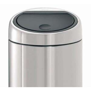 Brabantia Touch Bin, Matt Steel, 30 Litre £40 @ Amazon
