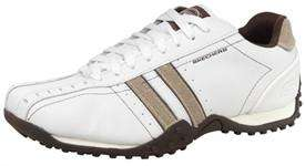 Skechers Mens Urbantrack Trainers White/Taupe £14.99 @ MandMDirect