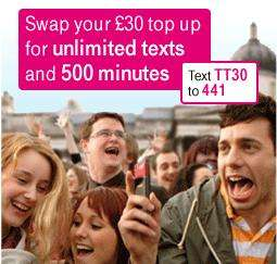 *PAY AS YOU GO* T-Mobile - 6 Months Internet - 1GB Per Month - £20 @ T-Mobile