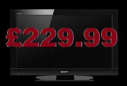 "*EX-DISPLAY* Sony Bravia 32BX300 - 32"" TV - £229.99 *Instore* @ Sainsburys"