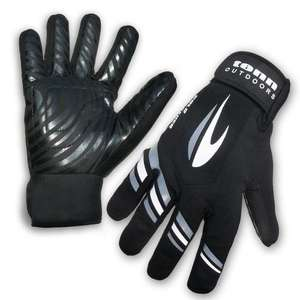Cold Weather / All Weather Waterproof Windproof Cycling Gloves - Black - £7.97 @ Tenn Outdoors