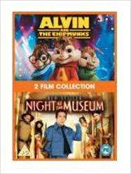 Alvin and the chimpmunks and Night At The museum Double Pack @ £2.99 Tesco