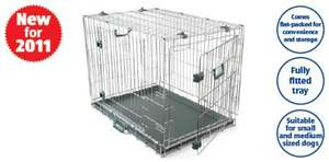 Dog crate £24.99 @ Aldi