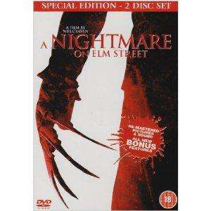 A  Nightmare on Elm Street (Original 1984) 2 Disc Re-Mastered Special Edition DVD only £2.73 Delivered @ Amazon